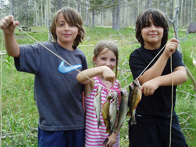 kids fishing in New Mexico